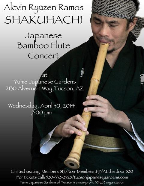 Shakuhachi 2014 Poster