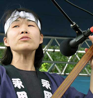Aki Takahashi, photo courtesy of Odaiko Sonora