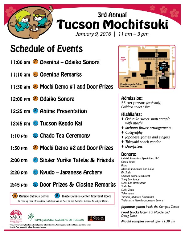 Mochitsuki  Event Program  Southern Az Japanese Cultural Coalition
