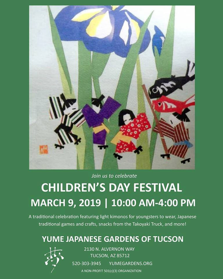 Children S Day To Be Celebrated Early On March 9 At Yume Japanese